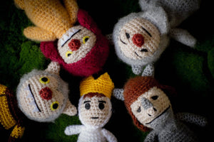 Where the wild things Are Party Wool Dolls