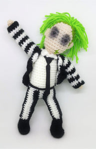 Beetlejuice Wool Doll