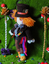Load image into Gallery viewer, Mad hatter Wool Doll