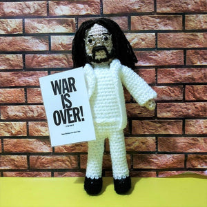 John Lennon Wool Doll