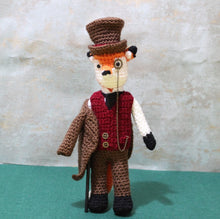 Load image into Gallery viewer, Lord Phileas Fox Wool Doll