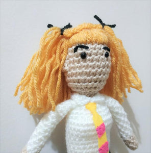 Roger Taylor Queen Wool Doll
