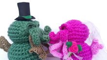 Load image into Gallery viewer, Bride & Groom Cthulhu Dolls