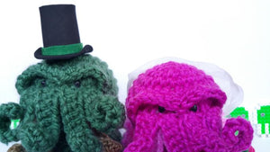 Bride & Groom Cthulhu Dolls