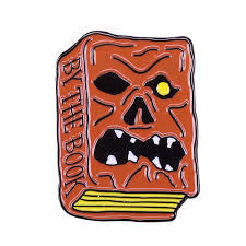Necronomicon Book Pin Badge