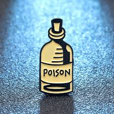 Poison Pin Badge