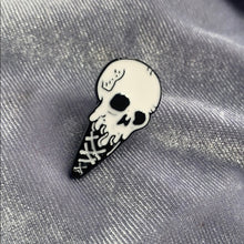 Load image into Gallery viewer, Skull Ice-Cream Pin Badge
