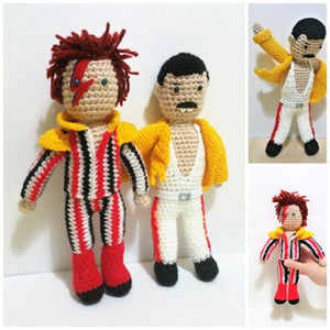 Mercury and bowie wooldoll by Kutuleras