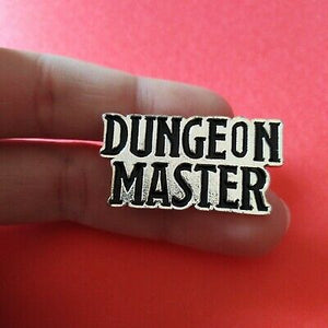 Dungeon Master Pin Badge