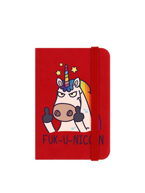 Fuck-U-Unicorn Small Notebook