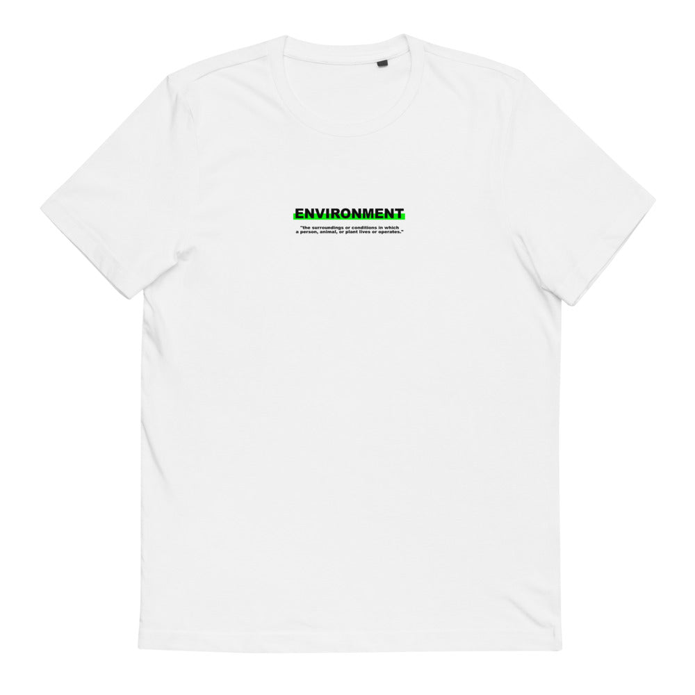 "T-Shirt Statement ""ENVIRONMENT"" - OLÁ KORK"