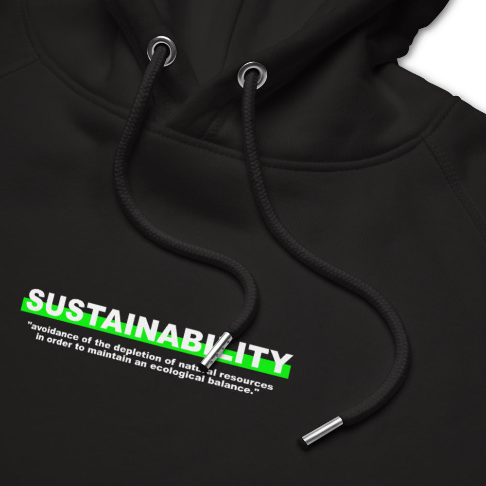 "Hoodie Statement ""SUSTAINABILITY"" - OLÁ KORK"