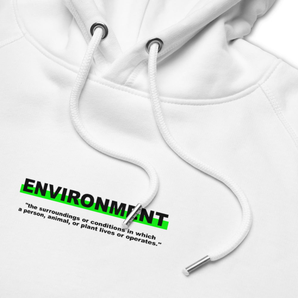 "Hoodie Statement ""ENVIRONMENT"" - OLÁ KORK"