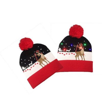 {45% Off Today!}Christmas LED Beanies Pretty Little Wish.com ELK