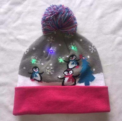 {45% Off Today!}Christmas LED Beanies Pretty Little Wish.com Penguin