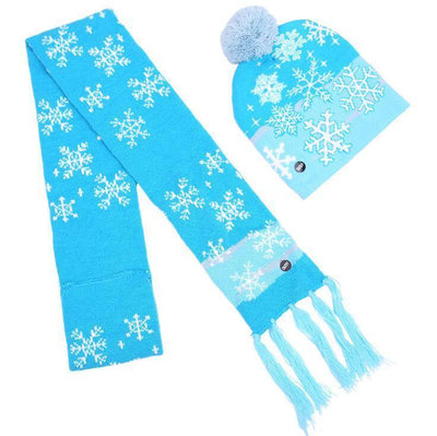 {45% Off Today!}Christmas LED Beanies Pretty Little Wish.com Set 3 - Snowflake