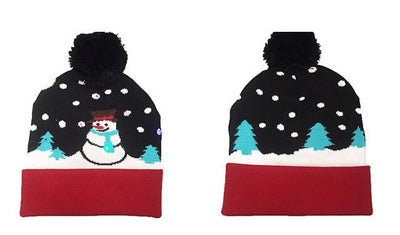 {45% Off Today!}Christmas LED Beanies Pretty Little Wish.com SNOWMAN 2