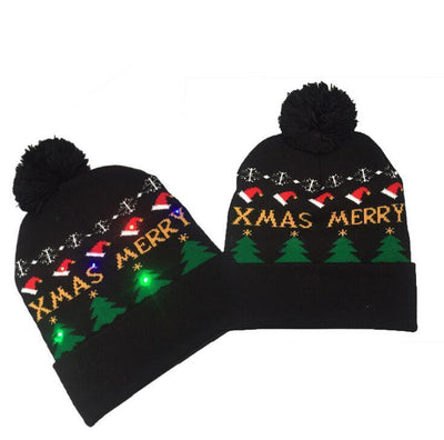 {45% Off Today!}Christmas LED Beanies Pretty Little Wish.com XMAS MERRY