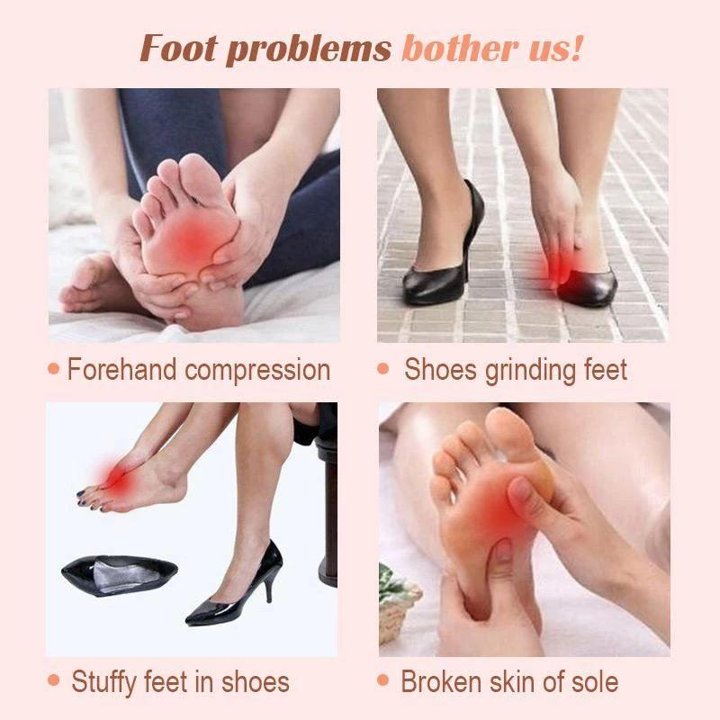 Comfy Silicone Foot Pads - Pretty Little Wish.com