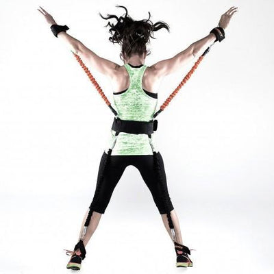 Men & Women Strength Training Full Body Resistance Bands For Kick Boxing and Exercise - Pretty Little Wish.com