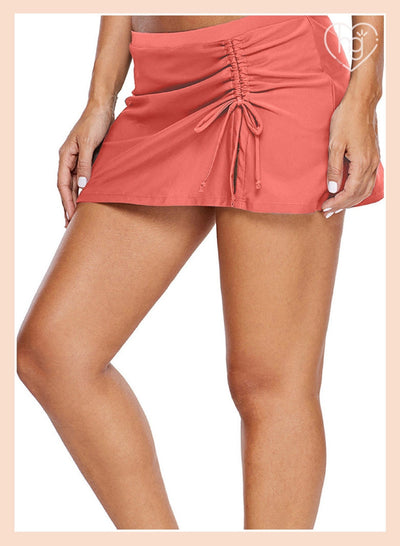 Solid Beach Mini Skirt Tight - Pretty Little Wish.com