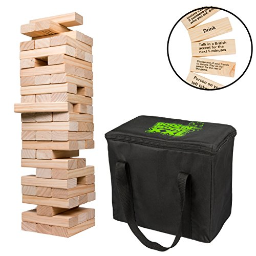 SCS Direct Extra Giant Stacking Tower Drinking Game (Stacks up to 5ft)