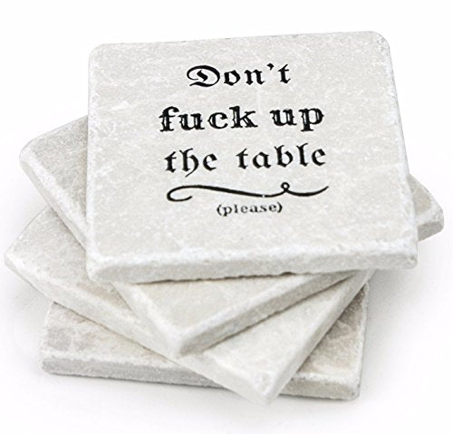 Marble Coasters For Drinks - Handmade Drinks Coasters For Hot Drinks