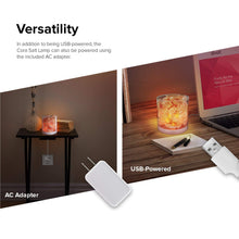 Load image into Gallery viewer, Levoit Cora Himalayan Salt Lamp, Natural Pink Salt Rock Night Light with Touch Dimmer