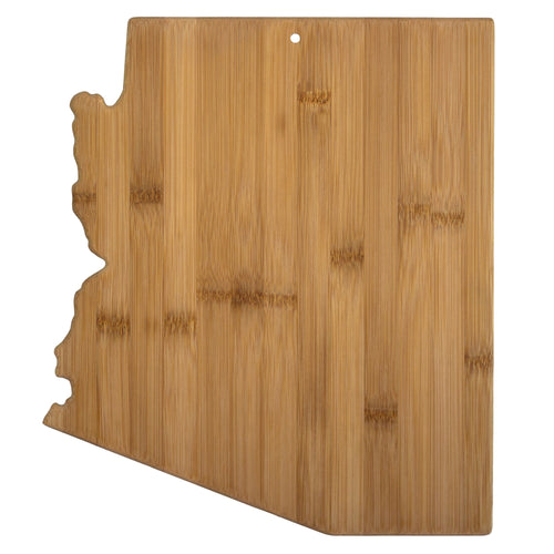 Totally Bamboo - All 50 States - Shaped Bamboo Serving & Cutting Board