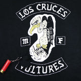 LOS CRUCES VULTURES MC *GUN SHOT* - LOHA VETE