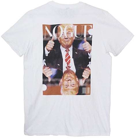 Infamous Vogue Magazine Cover featuring Donald Trump Print T Shirt by Loha Vete
