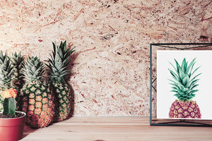 Pineapple Digital Wall Print II - Salt&Printer