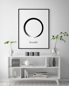Breathe Digital Wall Print - Salt&Printer