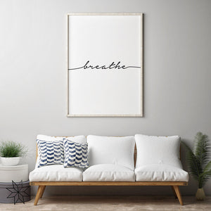 Breathe II Digital Wall Print - Salt&Printer