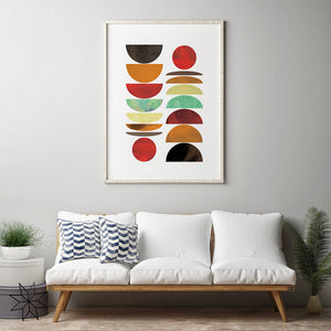 Moon Phases Digital Wall Print - Salt&Printer