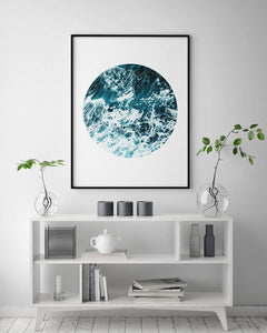 Ocean Digital Wall Print - Salt&Printer