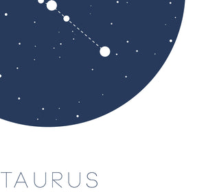 Taurus Digital Wall Print - Salt&Printer