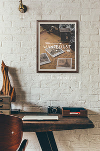 Wanderlust Digital Wall Print - Salt&Printer