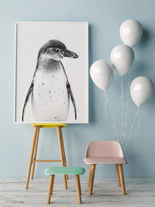 Penguin Digital Wall Print - Salt&Printer