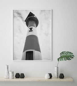 Lighthouse Digital Wall Print - Salt&Printer