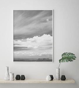 Cloud Digital Wall Print - Salt&Printer