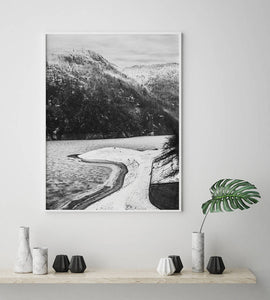 Mountain Digital Wall Print II - Salt&Printer