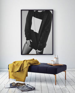 Fashion Model Digital Wall Print - Salt&Printer
