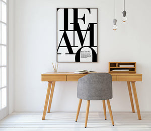 Te Amo Digital Wall Print - Salt&Printer