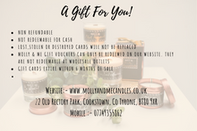 Load image into Gallery viewer, Molly & Me Candles Gift Certificate