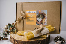 Load image into Gallery viewer, DIY Beeswax Candle Kit