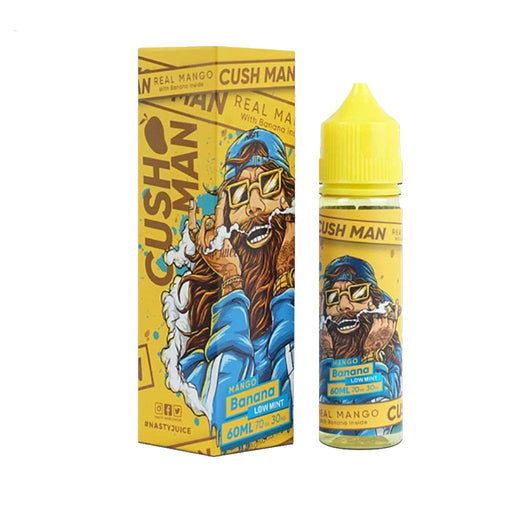 Nasty Juice - Banana Cush Man ELiquid (50ml)