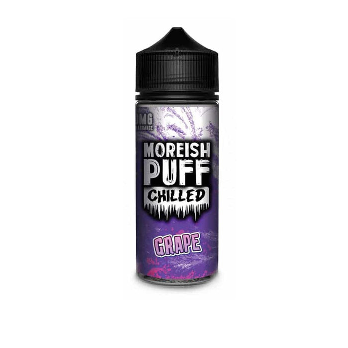 Moreish Puff - Chilled Grape Shortfill E Juice (100ML)