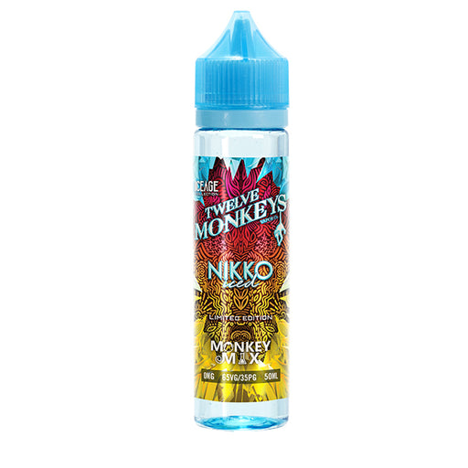 12 Monkeys - Iced Nikko (50ml, Shortfill)
