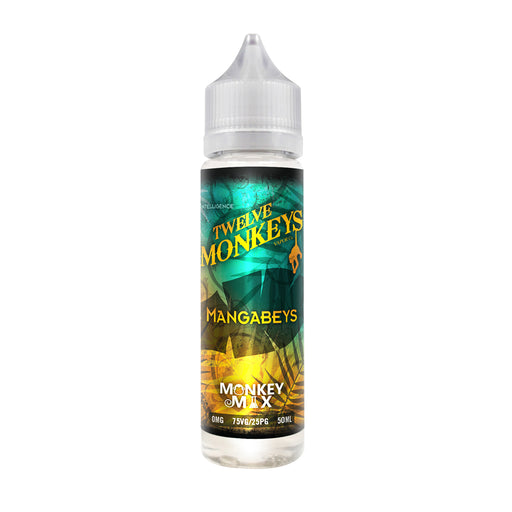 12 Monkeys - Mangabeys (50ml, Shortfill)